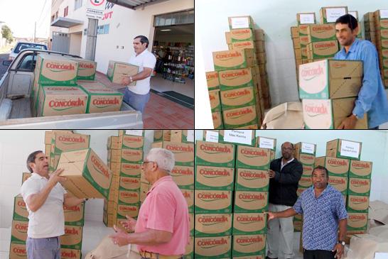 Entidades filantrópicas de Araxá são beneficiadas com 7 mil litros de óleo de soja