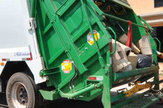 Coleta de lixo é estendida em Araxá