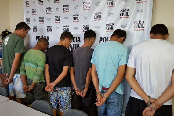 Polícia Civil desarticula quadrilha que praticava roubos na região