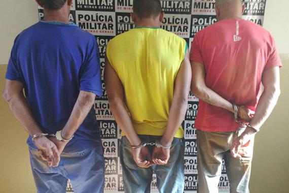 PM prende autores de roubos a residências em Araxá
