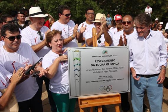 Passagem do fogo olímpico custou R$ 85 mil ao município