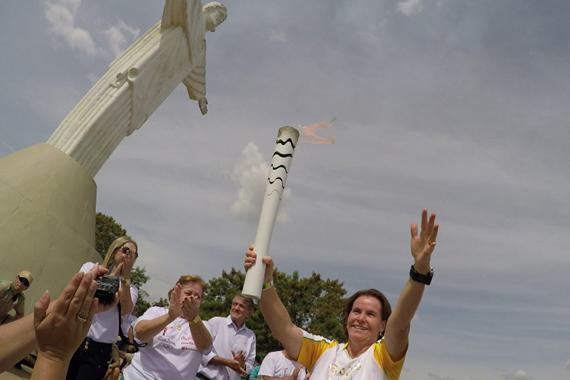 Prefeitura informa o valor real de gastos com o Revezamento da Tocha Olímpica em Araxá