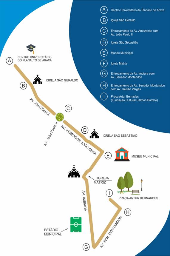 Trânsito será impedido em vários trechos da cidade para o Revezamento da Tocha Olímpica