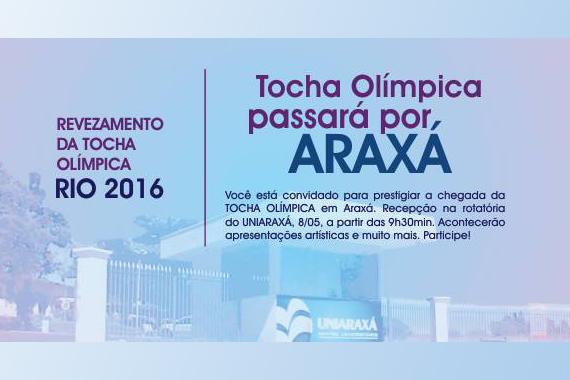 Uniaraxá abre o Revezamento da Tocha Olímpica no próximo domingo