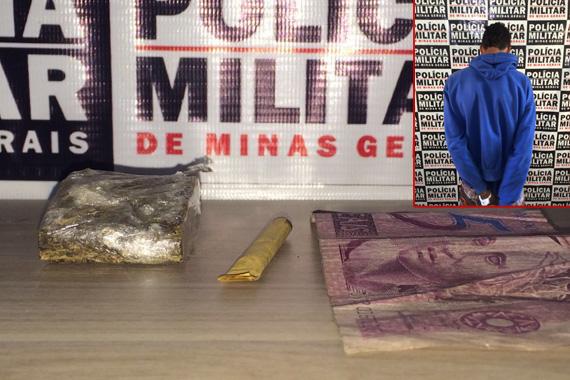 Jovem é preso por tráfico de drogas no Pão de Açúcar 3