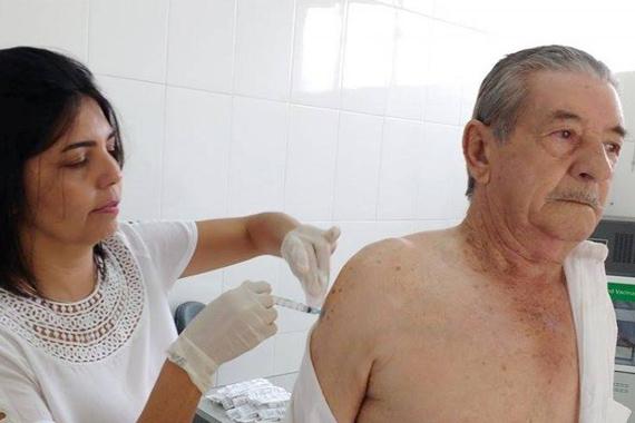 Vacinação contra a gripe em Araxá já atingiu 69% da meta