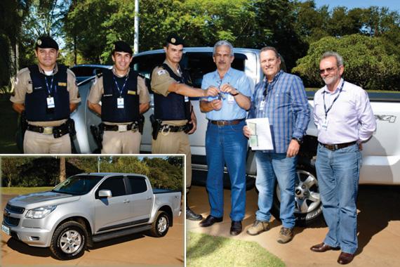 CBMM doa veículo ao 37º BPM para auxílio à segurança pública