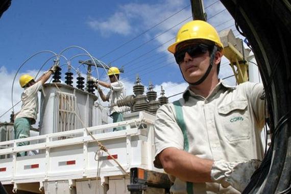 Rede elétrica de Araxá recebe manutenção preventiva na área central