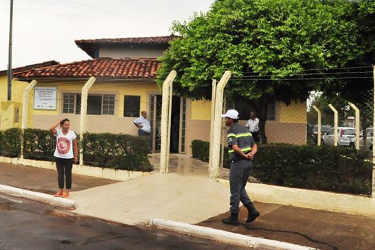 Recentemente reformado, Núcleo de Convivência do bairro Pão de Açúcar é alvo de vandalismo