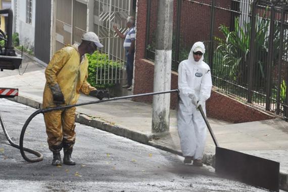 Prefeitura inicia recapeamento de ruas dos bairros Abolição, São Francisco e Ana Pinto de Almeida nesta segunda