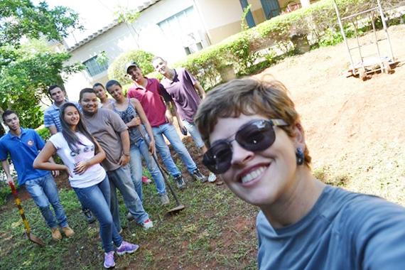 Engenharia Ambiental e Sanitária do Uniaraxá promove Trote Ecológico