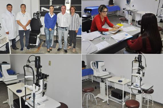 Unisa recebe novos equipamentos para exames oftalmológicos