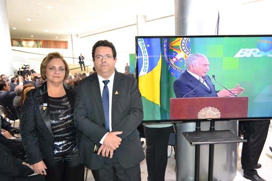 Acia participa de encontro com presidente Temer