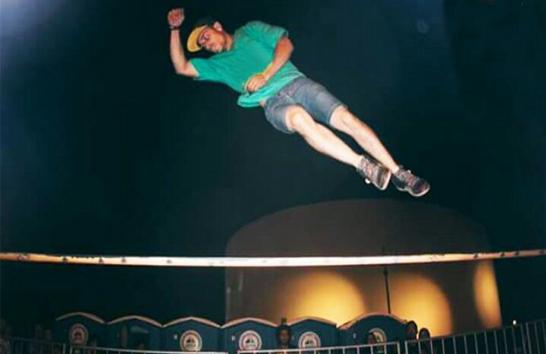Darllyon Araújo disputa Campeonato Nacional de Slackline