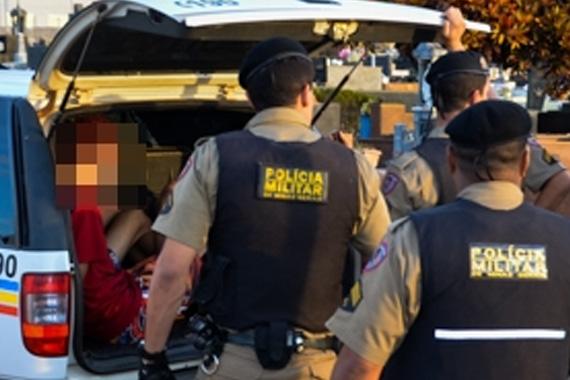 Operação da PM e Conselho Tutelar localiza cinco adolescentes que estavam foragidos