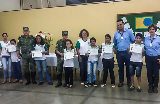 Programa de Educação Ambiental forma primeira turma em Araxá