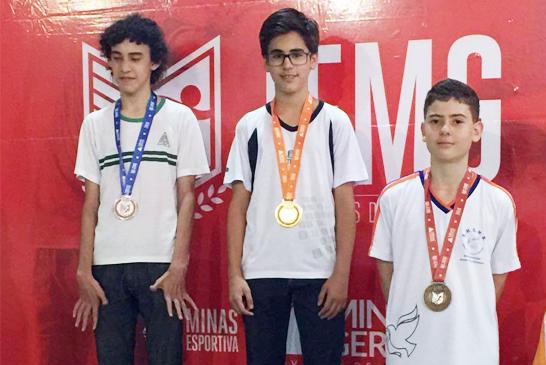 Vítor Amorim é campeão estadual no Jemg 2016