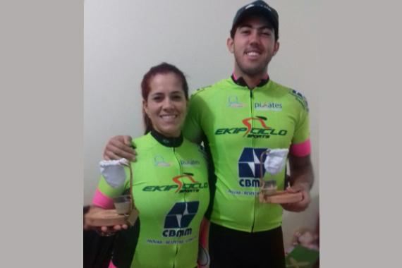 Dupla araxaense vence a Ultramaratona Caminhos de Rosa