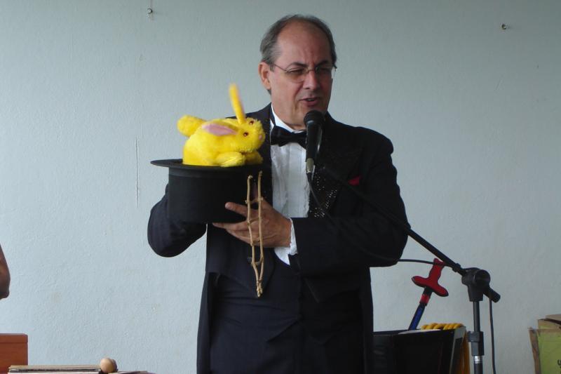 Homenagem aos pais do CSD – Grande Show de mágica