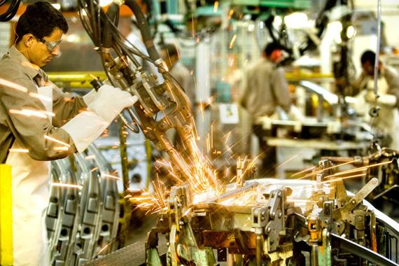 Produção industrial se mantém estável em Minas Gerais