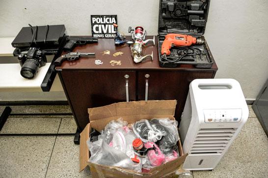 Policia Civil, com apoio da Polícia Militar, prende autor de assalto a casa paroquial em Araxá