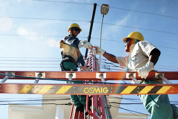 Rede elétrica de Araxá recebe melhorias da Cemig