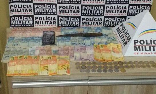 Polícia Militar prende 5 autores de roubo ocorrido em posto de combustíveis de Araxá