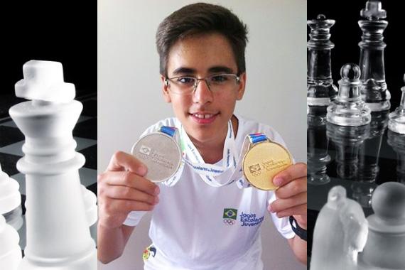 Vitor Amorim Fróis conquista o segundo ouro nos Jogos Escolares da Juventude