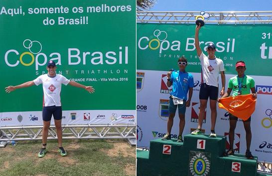 Jhonathan Castro vence Copa Brasil e garante vaga para o mundial do triathlon