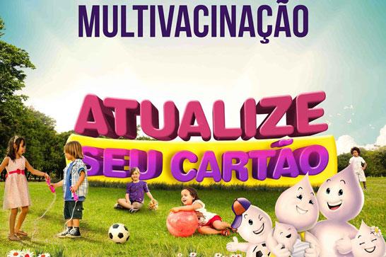 Prefeitura divulga balanço da Campanha de Multivacinação em Araxá