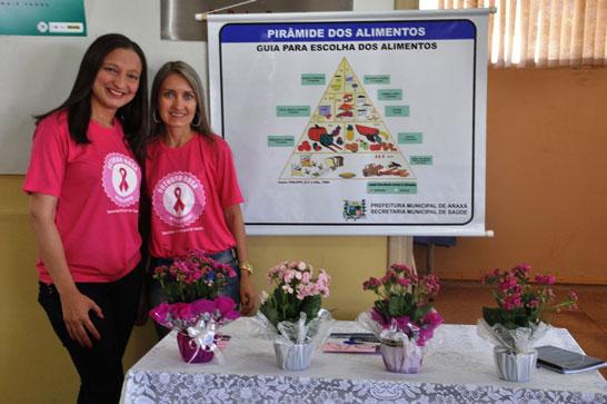 """PMA inicia campanha """"Outubro Rosa"""" em Araxá"""