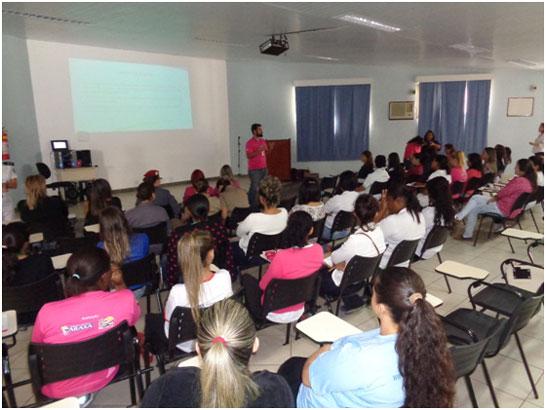 37º BPM e Sesc realizam campanha do Outubro Rosa em Araxá