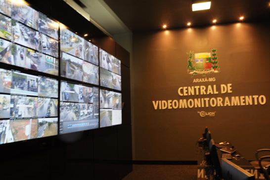 Sistema de videomonitoramento de Araxá já está em funcionamento