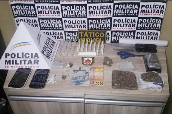 Dois homens são presos por associação ao tráfico; confira as ocorrências