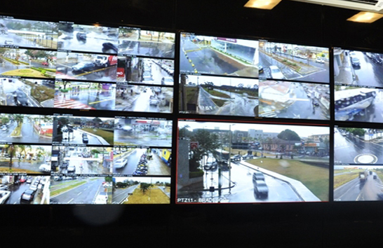 Central de videomonitoramento ajuda na prisão de suspeitos de tráfico no centro