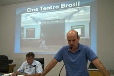 Fechado há mais de um ano, situação do prédio do Cine Teatro Brasil é abordada na Câmara