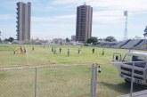 Assessoria de Esportes Amador e Rural promove limpeza no Estádio Municipal Fausto Alvim