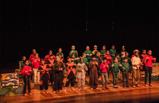 """Criatividade marca as apresentações da 1ª """"Mostra de Teatro Bem Brasil: Educando para a vida"""""""