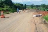 Chuvas causam estragos na estrada Araxá-Antinha