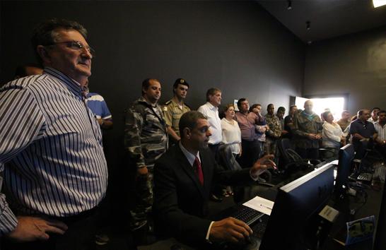 Central de Videomonitoramento é inaugurada em Araxá