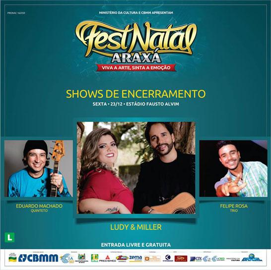 FestNatal se despede do público na edição de 2016
