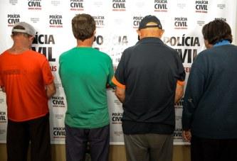 Policia Civil prende homens suspeitos de pedofilia em Araxá