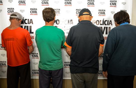 Polícia Civil prende homens suspeitos de pedofilia em Araxá