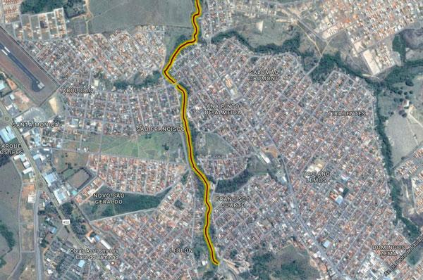 Pedido do prefeito Aracely sobre canalização do Córrego Grande é entregue à Presidência da República