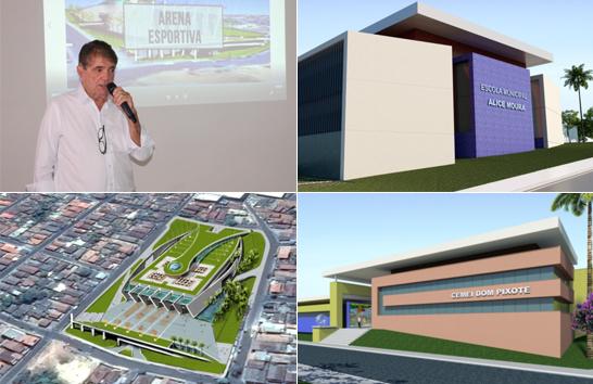 Prefeitura divulga ações e projetos para o mandato 2017/2020
