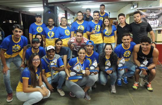 Atlética Uniaraxá participa de campeonato regional