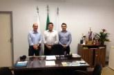 Deputado Bosco visita presidente da Câmara de Araxá e se coloca a disposição da Casa