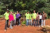 Lídia Jordão visita o projeto Casa do Pequeno Jardineiro