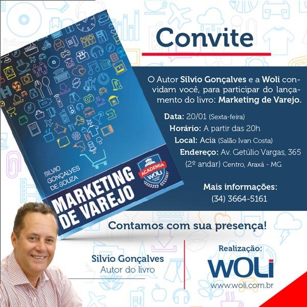 Silvio Gonçalves de Souza lança o livro 'Marketing de Varejo'