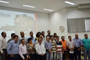 Encontro promovido em Araxá define colegiado dos Fóruns Regionais do Governo de Minas